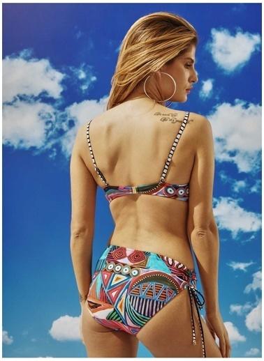 Bonesta Bonesta Donmelı Kaplı Bikini Renkli